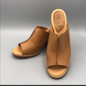 Kork-Ease Cammi Mules Size 8